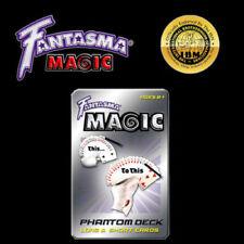 Fantasma Phantom Deck Tin With Over 25 Magic Tricks Svengali Cards Gimmick Gaff