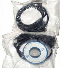 lot 2 x Mcad Convertisseur USB -serie RS232 prolific 1 port DB9
