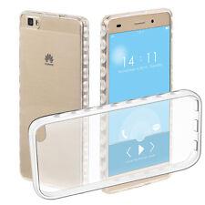 Transparent Back Skin Soft TPU Rubber Gel Case Cover For Huawei P8 Lite/ALE-L21