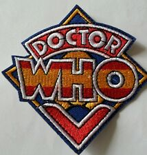 Dr Who Logo embroidered patch