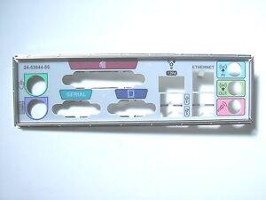 I/O Shield Back Plate with 4 USB + Square Firewire + Network x 10 Job Lot