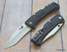 SOG TRACTION LOCK-BACK FOLDING KNIFE WITH POCKET CLIP - 7.75 INCH OVERALL