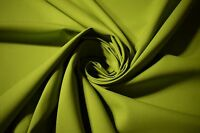 "Upholstery Apparel Soft Hi Vis Green Twill Fabric Cotton Poly 8 Oz 64"" W By Yard"