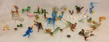 Lot of 38 Vintage Miniature Hand Blown Art Glass Animals: Many Family Sets...+++