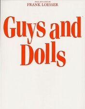 Good, Frank Loesser: Guys And Dolls (Vocal Score) Voice Sheet Music, Not Availab