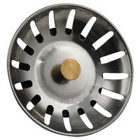 Rostfreier Stahl Bad-Küche-Wanne Abfluss Sieb Waste Plug Becken Abtropffläc M0O0