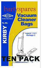 DUST BAGS PACK OF TEN  for KIRBY HERITAGE 2 LEGEND VACUUM CLEANER hoover