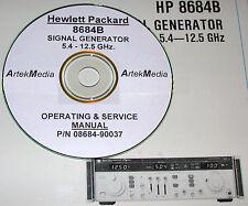 Hp 8684B Operating & Service Manual