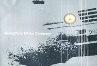 2002 Ssangyong Sales Brochure Catalog - Rexton Chairman Musso Korando