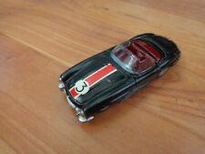VINTAGE 1960S CORGI TOYS 303 MERCEDES BENZ 300SL ROADSTER NICE RESTORATION BLACK