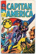 CAPITAN AMERICA corno N.92 NOMAD ! luke cage power man black goliath 1976