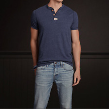 NWT HOLLISTER by Abercrombie Men's T-Shirt NAVY SIZE L