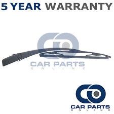 """12"""" 305mm Rear Wiper Arm + Blade Kit For Citroen C1 Peugeot 107 Toyota Aygo"""