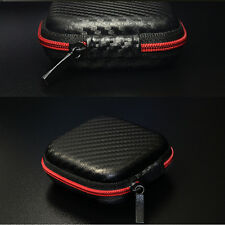 Cable Earphone Headphone Bag Carry Storage Box Earbud Case Travel Portable Hot