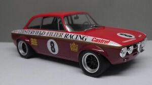 1/18 ACE BRIAN FOLEY ALFA ROMEO GTAM 1750 CHESTERFIELD RACING #8  LTD ED OF 300