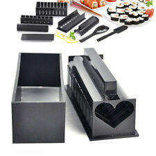 Sushi Maker Kit Rice Roll Mold Kitchen DIY Easy Chef Set Mould Roller CutterSC