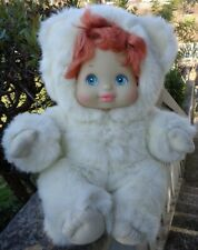 MY LOVING BABY PETS MY LOVE MATTEL 1986 DOLL, RED HAIR BAMBOLA ORSETTO