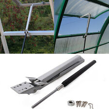 Greenhouse Solar Automatic Open & Close Vent Window Roof Opener Well Plant Care