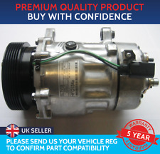 AIR CON COMPRESSOR PUMP TO FIT AUDI A3 VW GOLF MK4 SEAT LEON IBIZA SKODA OCTAVIA