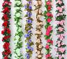 8Ft Artificial Fake Silk Rose Flower Ivy Vine Garland Wedding Party Home Decor-S