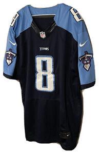 Nike Marcus Mariota Size 56 XXL Tennessee Titans NFL Jersey
