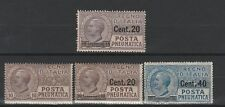 FRANCOBOLLI - 1923/25 REGNO POSTA PNEUMATICA MNH Z/8083