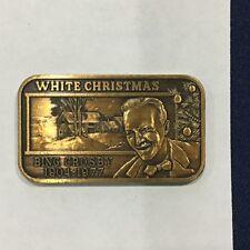 1977 Greathouse Bing Crosby White Christmas Ser #8 MOTA-2B Bronze Bar P2900