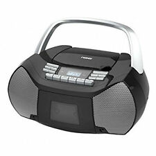 NEW NAXA Electronics NPB-268 Portable CD/Cassette Boombox AM/FM Radio Player