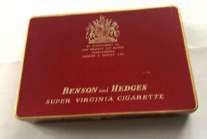 BENSON & HEDGES - VINTAGE CIGARETTE TIN