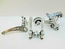 VINTAGE CAMPAGNOLO NUOVO RECORD MINI GRUPPO GROUP Rally long tail derailleur
