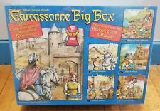 Carcassone Big Box Base Game & 5 Expansion Large Package 2010 Edition New in Box