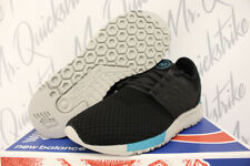 NEW BALANCE 247 SZ 12 RUNNING BLACK CHARCOAL GREY TEAL WINTER KNIT MRL247KB