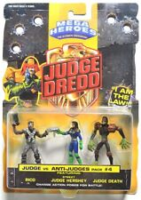 ESZ9648. Mega Heroes JUDGE DREDD Judge Vs. Anti-Judges Pack #4 by Mattel (1995)
