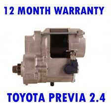 TOYOTA PREVIA 2.4 MPV 1990 1991 1992 1993 1994 - 2000 STARTER MOTOR