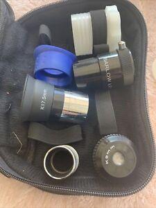 Lot of Telescope Lens Eyepieces