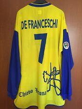 Maglia Shirt Maillot Trikot Chievo Verona 02 03 Indossata Serie A Match Worn