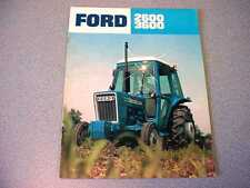 Ford 2600, 3600 Farm Tractor brochure                       lw