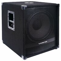 """Sound Town METIS 1800W 15"""" Powered Subwoofer w/ Class-D Amplifier METIS-15SDPW"""