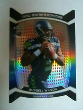2012 Topps Chrome Refractor Russell Wilson Red Zone Rookies Die Cut RC