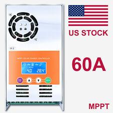 MPPT 60A Solar Charge Controller  For 12V 24V 36V 48V DC Battery Regulator