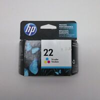 HP Ink Cartridge 22 TRI-COLOR Genuine Sealed
