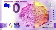 13 BERRE L'ETANG Montagne Ste-Victoire, 2021, Anniversaire, Billet Euro Souvenir