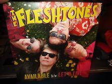 "Brand New 2013 THE FLESHTONES Available B/W Let's Live US 7"" Yep Roc"