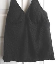 Plus Tankini Top Solid 24W Swimwear for Women