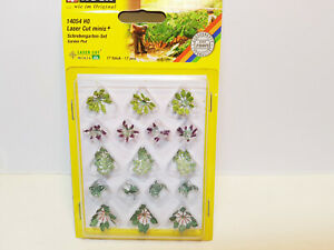 14054 Noch Ho Scale Laser Cut Mini GARDEN PLOT