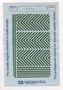 """87-283-9 8"""" Barricade Stripes HO Scale"""