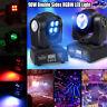 8x10W RGBW 4in1 LED Moving Top Disco Party Head Light Club DMX DJ Stage Lighting