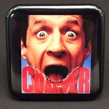 """COASTER Button Disney Computer Game 2x2"""" Vintage 1993 Disneyana Collectible"""