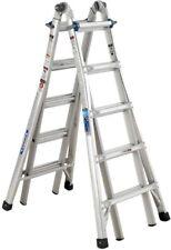 Werner Telescoping Extension Ladder 22 ft. Aluminum Multi-Position 250 lb. Load