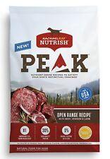 Rachael Ray Nutrish PEAK Natural Grain Free Dry Dog Food, Open Range Recipe with